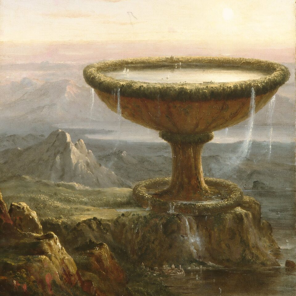 The Titan's Goblet - Thomas Cole