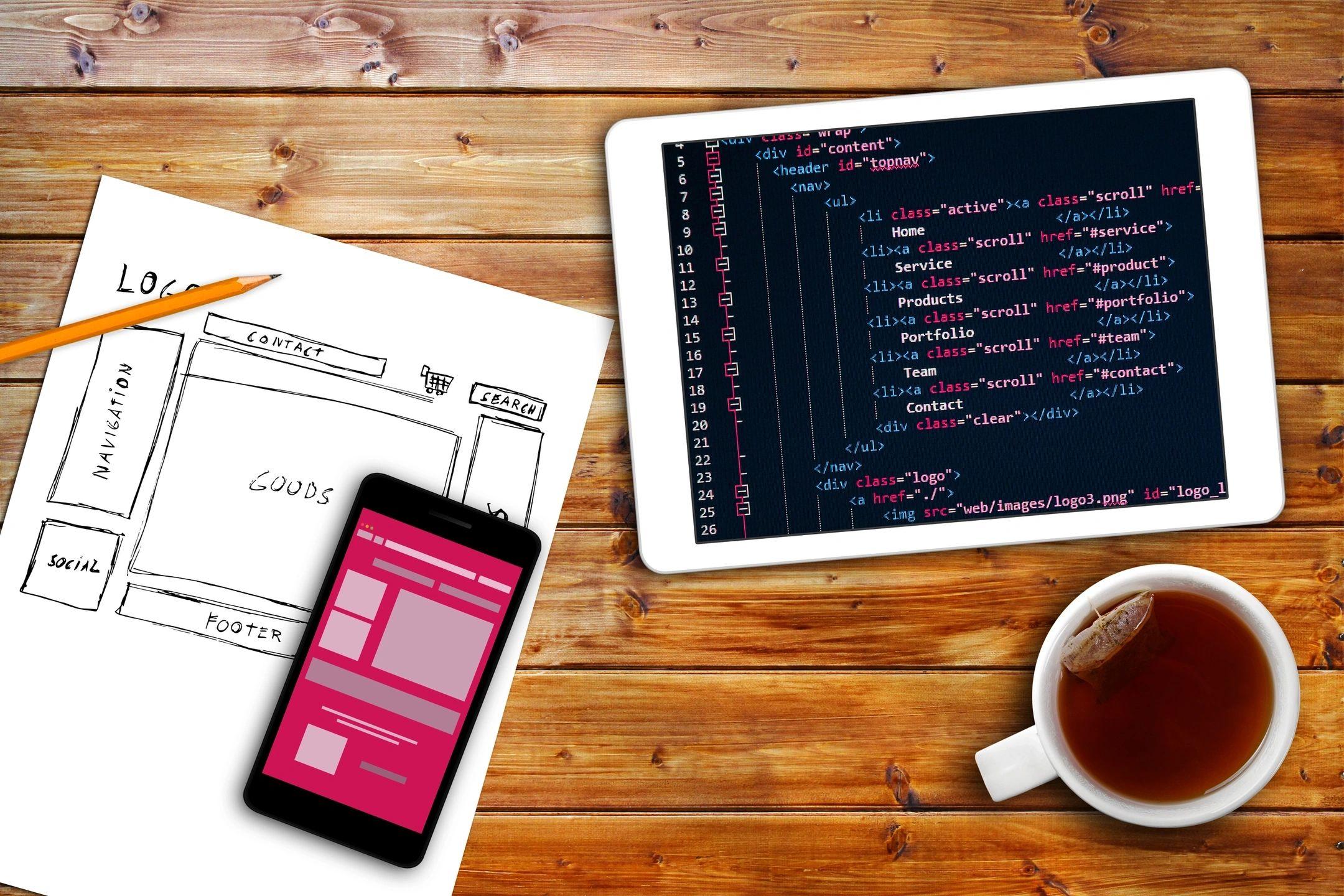 Coding- web design