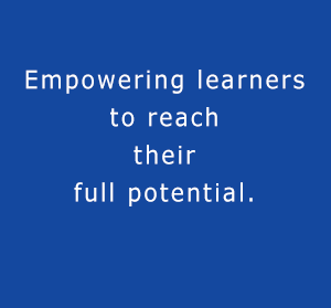 Empowering learners to reach their full potential