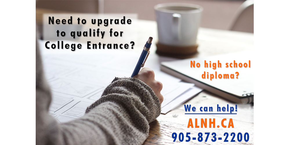 Qualify for College Entrance at ALNH.CA