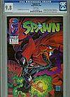 Rare comic book Spawn #1