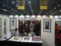 London Super Comic Convention exhibits