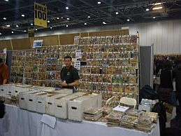 London Super Comic Convention exhibit