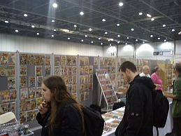 London Super Comic Convention attendees