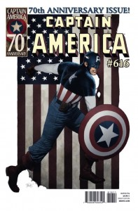 Captain America's 70th anniversary issue