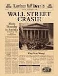 The Great Depression post the Wall Street crash