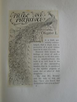 Pride and Prejudice from 1894 - Chapter I
