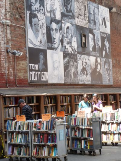 The Brattle Book Shop Yard