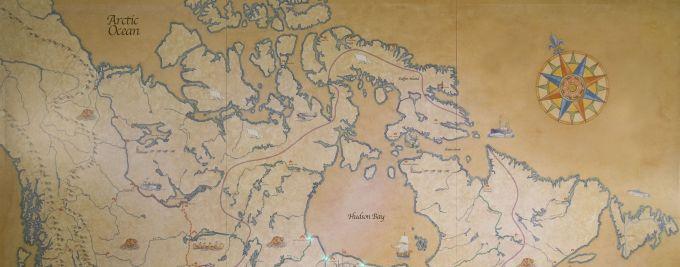 Hudson Bay Map