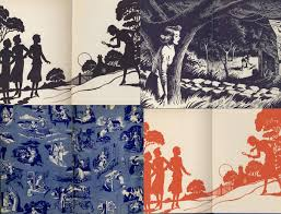 endpapers- nancy drew
