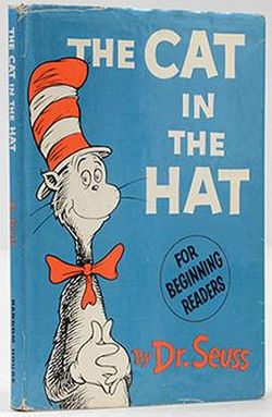 Cat In The Hat dust jacket
