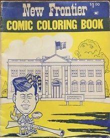 JFK adult coloring book