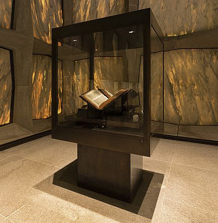 Gutenberg Bible at Beinecke