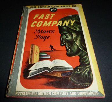 Leo Manso paperback art