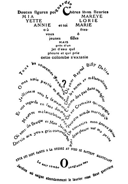 Apollinaire poem