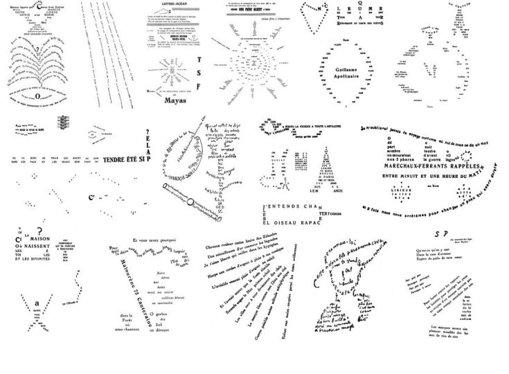 Calligrammes by Apollinaire