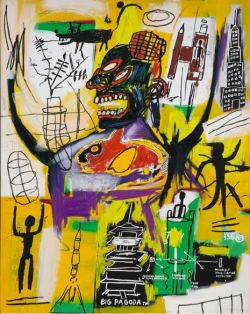 "Thumbnail image for Jean-Michel Basquiat is ""PYRO"" hot"