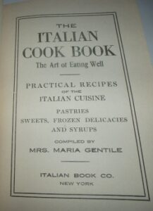 The Italian Cook Book bu Maria Gentile