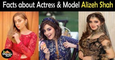 Alizeh Shah Pakistani Actress
