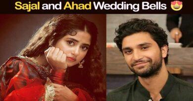 sajal aly and ahad raza mir wedding
