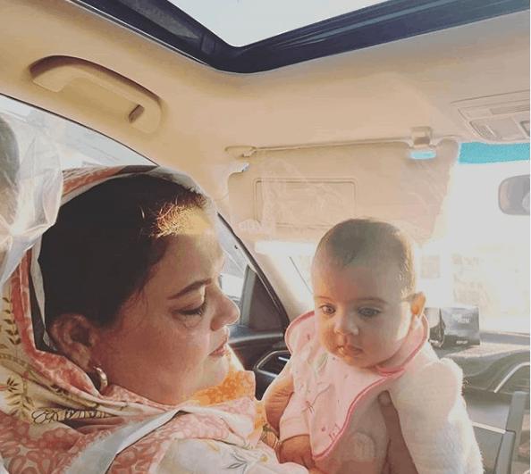 aiman khan daughter pics