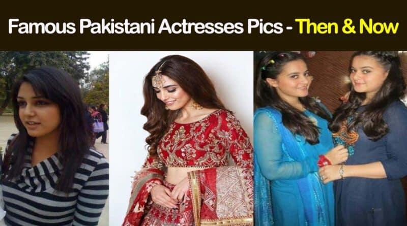 Pakistani actress transformation