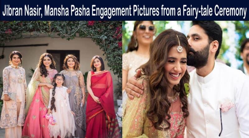mansha pasha engagement pictures