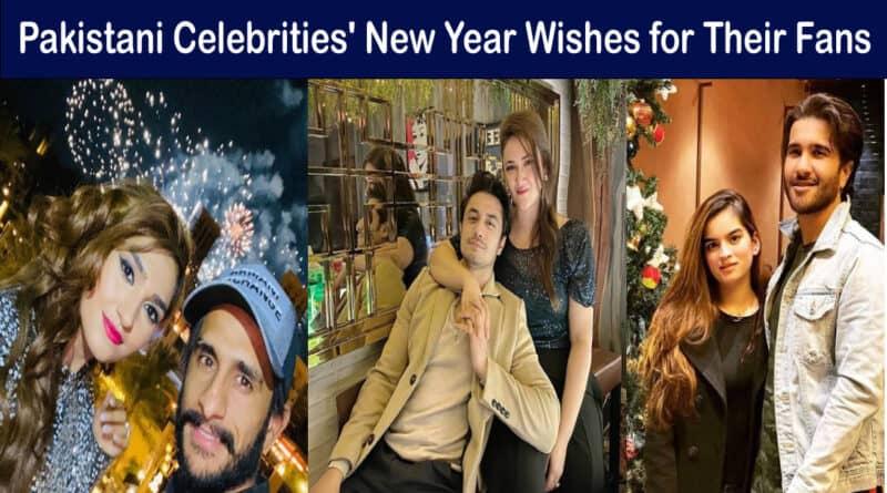 Pakistani celebrities new year