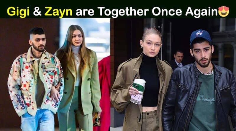 gigi hadid and zayn malik back together