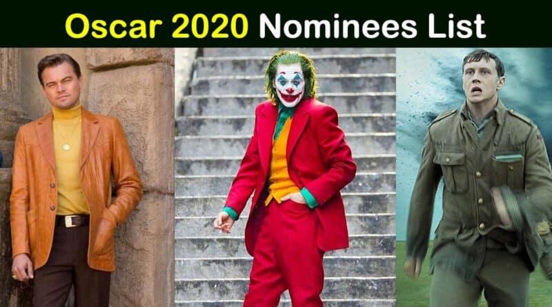 oscar 2020 nominations