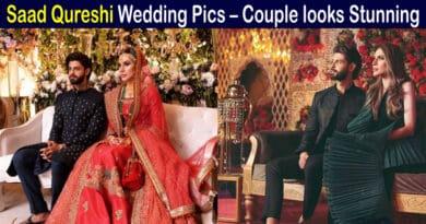saad qureshi wedding pics
