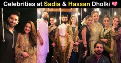 hassan hayat khan and sadia ghaffar