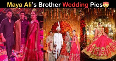 maya ali brother wedding pics