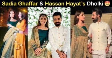 sadia ghaffar and hassan hayat khan