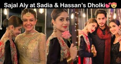 sadia ghaffar and hassan hayat dholki