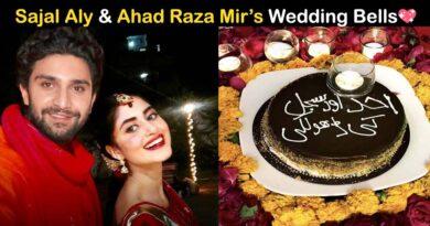 sajal ali and ahad raza mir married