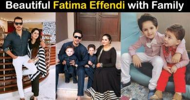 fatima effendi family pics