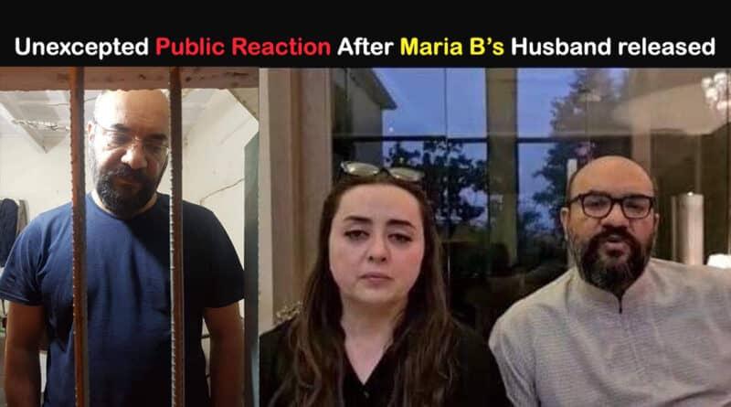 maria b husband released