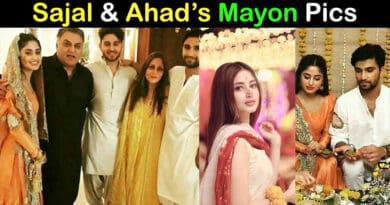 sajal and ahad mayon