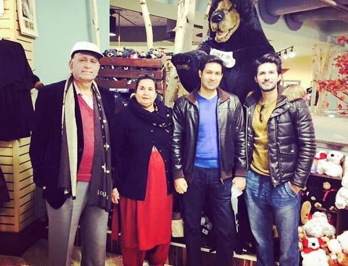 adeel chaudhary family pics