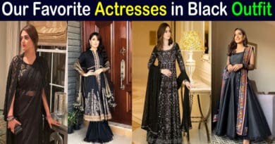 pakistani actresses in black