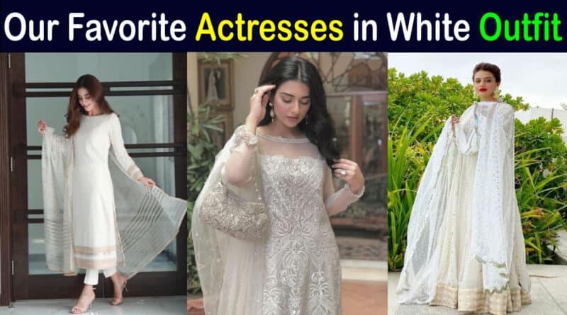 pakistani actresses in white