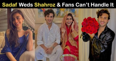 shahroz sabzwari and sadaf kanwal wedding