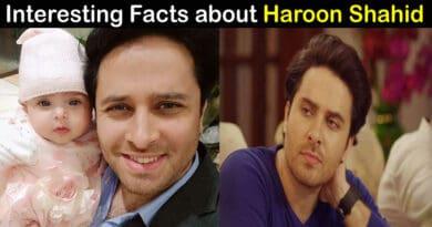 haroon shahid biography