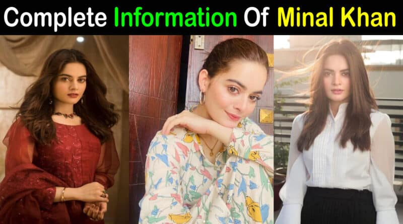 minal khan biography