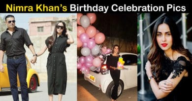 nimra khan birthday husband