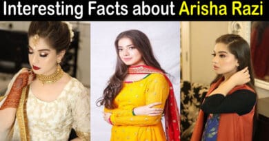 arisha razi biography