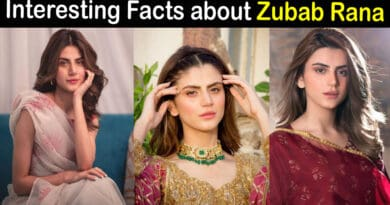 zubab rana biography