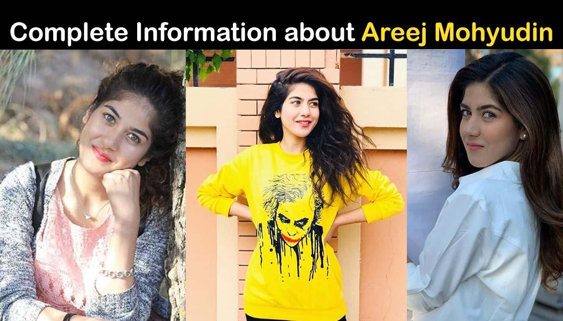 Areej Mohyudin Biography – Age – Education – Family – Dramas – Pics