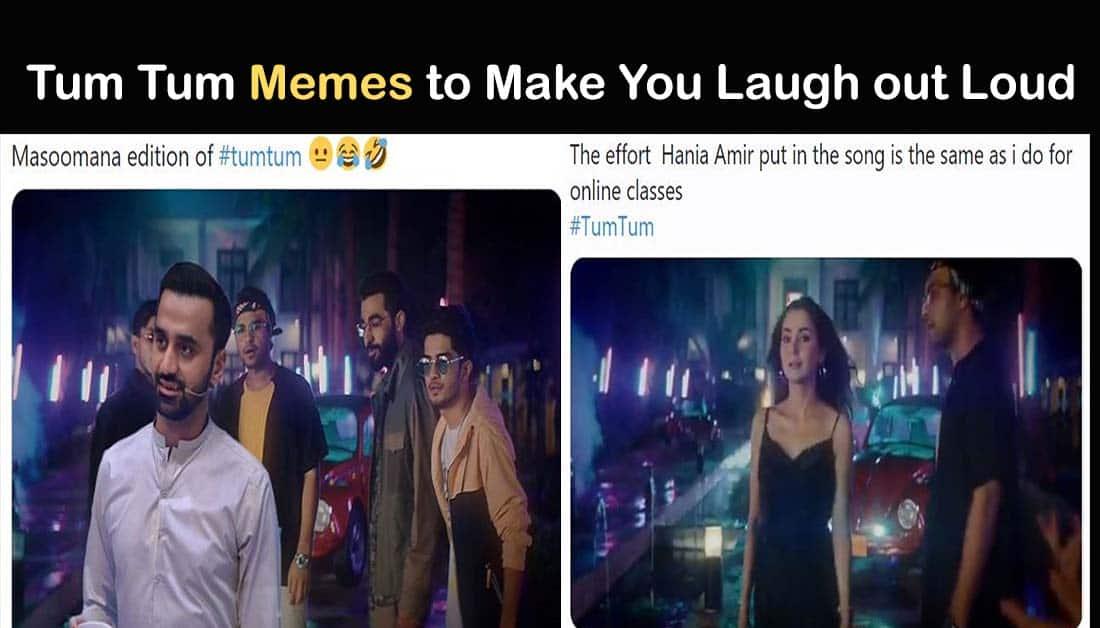 Funny Memes on Asim Azhar and Areeka's Song TUM TUM